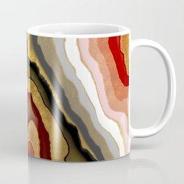 Abstract gilded agate Coffee Mug