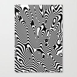 Trippy Background Canvas Print