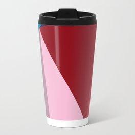 Abstract Modernist Metal Travel Mug