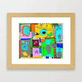 Easy Livin Framed Art Print