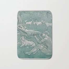 Daphnis and Chloe Bath Mat