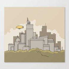 Wilbur's Big City Canvas Print