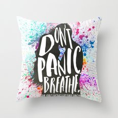 [Exclusive] - The Lovely Reckless - Don't Panic Throw Pillow