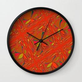 Oriental Holiday Wall Clock