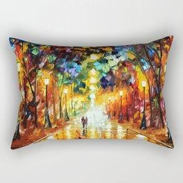 Romantic Starry Night Rectangular Pillow