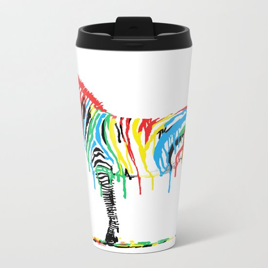 Fresh Paint Metal Travel Mug