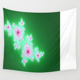 The mandelbrot pattern  Wall Tapestry