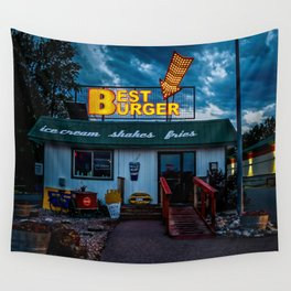 Best Burger Wall Tapestry