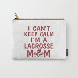 I'M A LACROSSE MOM Carry-All Pouch