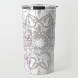 ligh colored lace Travel Mug