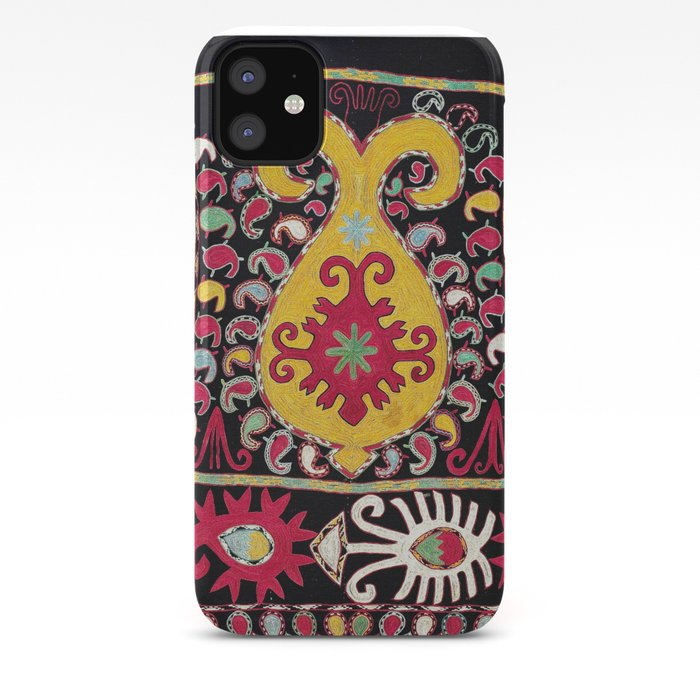 redelijke prijs uitgebreide selectie echt goedkoop Lakai Tribal Nomad Antique Uzbekistan Horse Cover Print iPhone Case by  vickybragomitchell