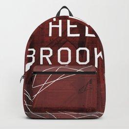 hello brooklyn Backpack