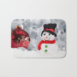 Christmas Cheer Bath Mat