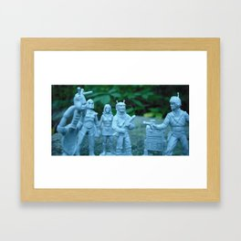 Interstellar Arrest Framed Art Print