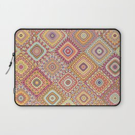 Granny's Millefiori Quilt-Spring Colors Laptop Sleeve