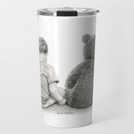 Just A Boy And A Bear Travel Mug