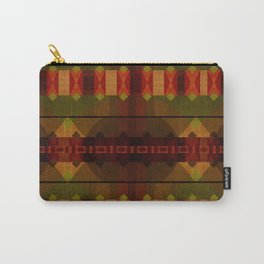 """""""Full Colors Tribal Pattern"""" Carry-All Pouch"""