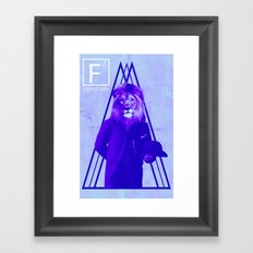 Statesman Framed Art Print