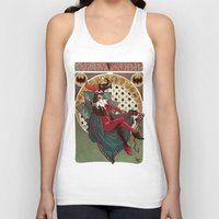 harley quinn Tank Tops featuring Harley Quinn by LaurenceBaldetti