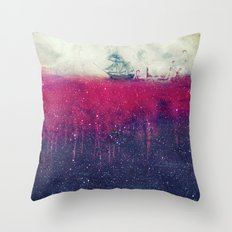 Sailing in dreams II Throw Pillow