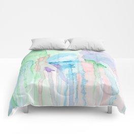 Watercolor Jellies Comforters