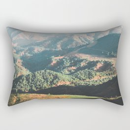 Layers of the Atlas Mountains, Africa Rectangular Pillow