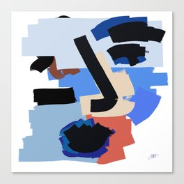 Abstract Me Canvas Print