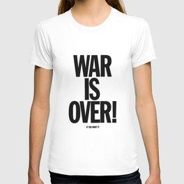 War Is Over - If You Want It -  John Lenon & Yoko Ono Poster T-shirt