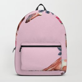 Rose Body Collage Backpack