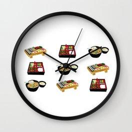 Japanese Food  Wall Clock