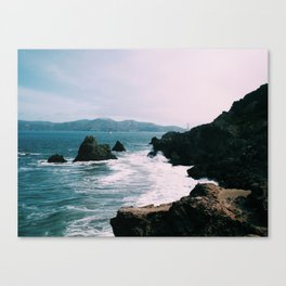 Sutro Waves Canvas Print