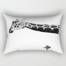 Long Necks Rectangular Pillow
