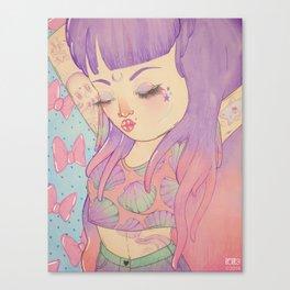 sea ♆ babe  Canvas Print