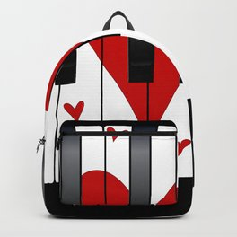 Love Piano Backpack