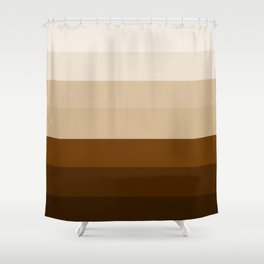 Coffee Liqueur and Cream Mix - Abstract Shower Curtain