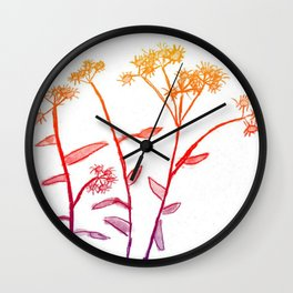 Childhood Drawing Revamped: Daisies Wall Clock