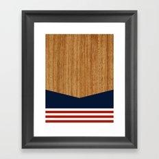 Vintage Rower Ver. 1 Framed Art Print