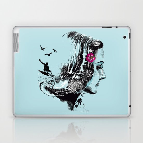 SURFHAIR Laptop & iPad Skin