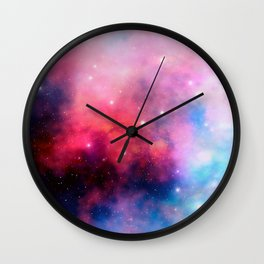 Intertstellar cloud Wall Clock