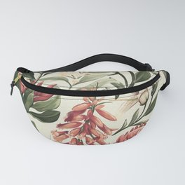 thistle flowers Fanny Pack