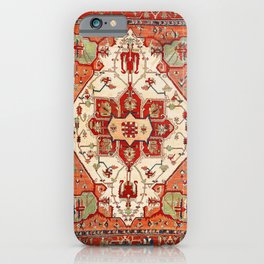 Serapi Azerbaijan Northwest Persian Rug Print iPhone Case