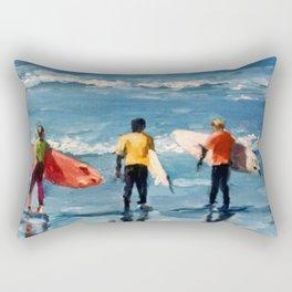 Crown City Surf Kids Rectangular Pillow