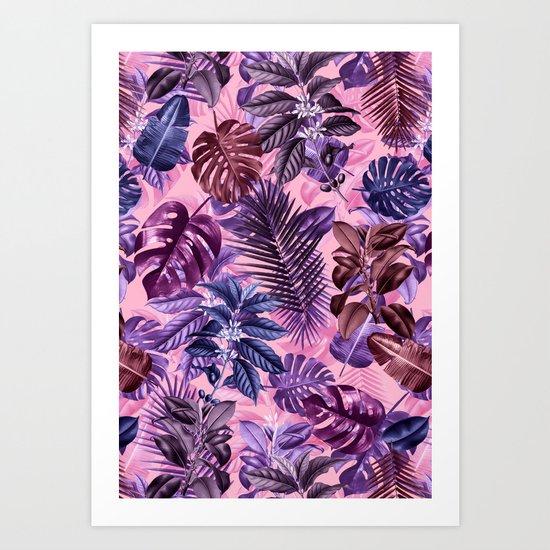 TROPICAL GARDEN VI Art Print