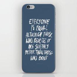 Equal iPhone Skin