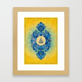 Batik 01 Framed Art Print
