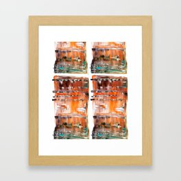 Autumn Cross Framed Art Print