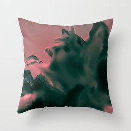 Fairy in Flower Throw Pillow