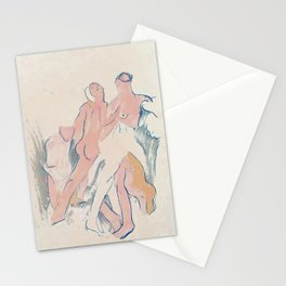 through the keyhole Stationery Cards