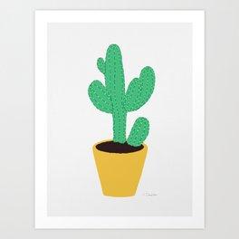 Cactus No. 3 Art Print