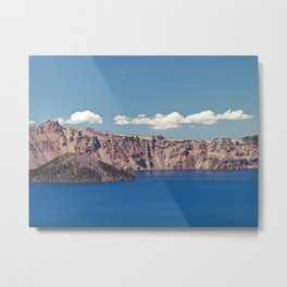 Crater Lake, Mount Mazama, Oregon, Northwest Mountain Metal Print